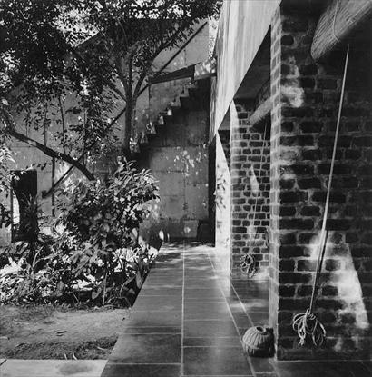 Villa de Madame Manorama Sarabhai, Ahmedabad, India, 1951  ( Le Corbusier)  Photo: Christian Staub © FLC/ADAGP