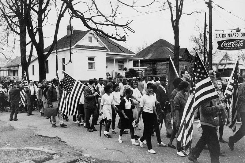 Selma to Montgomery-March  Source: Library of Congress