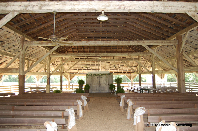 Little Texas Tabernacle: interior view
