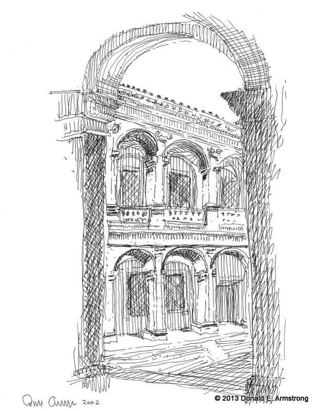 Fig. 5: Courtyard, Rome, Italy, 2002