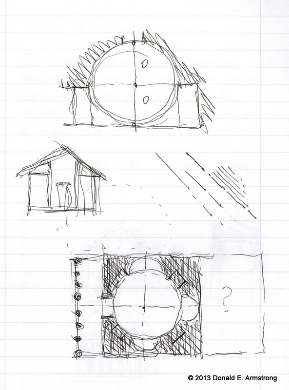 Fig. 2: The Pantheon (analytical sketch), Rome, Italy, 2002